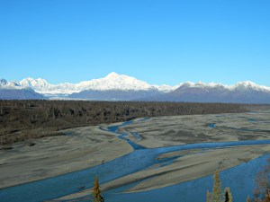 Denali South View. Photo by Angela Gonzalez