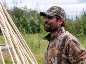 James Roberts. Photo courtesy of Yukon Men Show