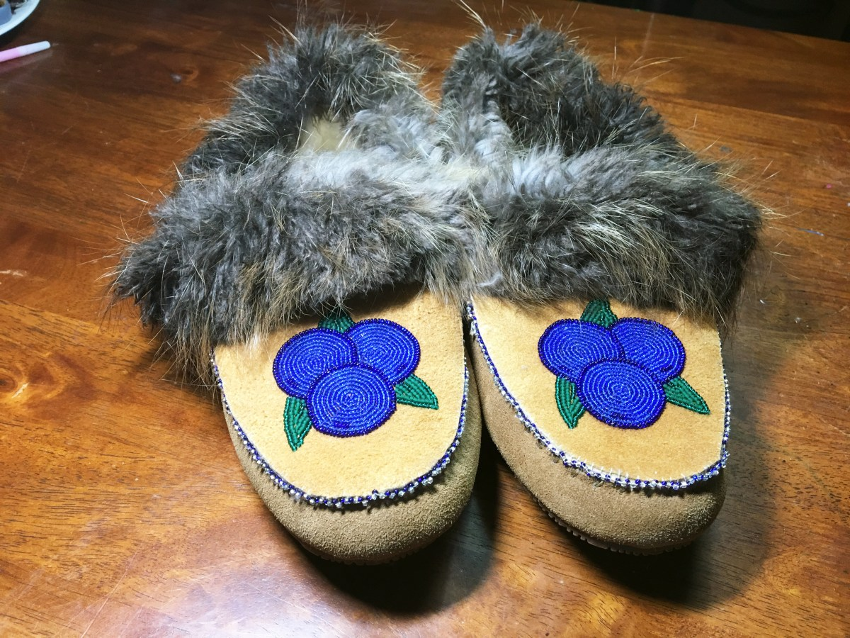 Making Beaded Slippers
