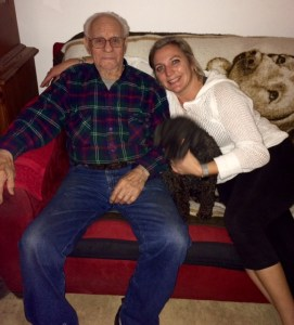 Tabetha and her Grandpa Charles Toloff. Courtesy photo
