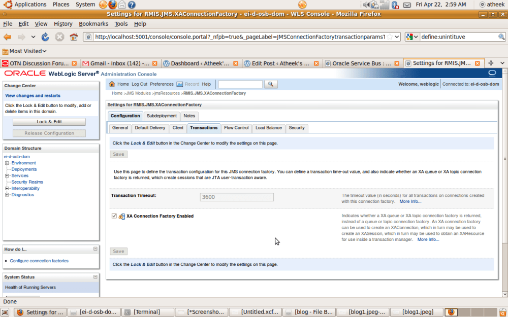 Transaction handling within OSB (1/6)