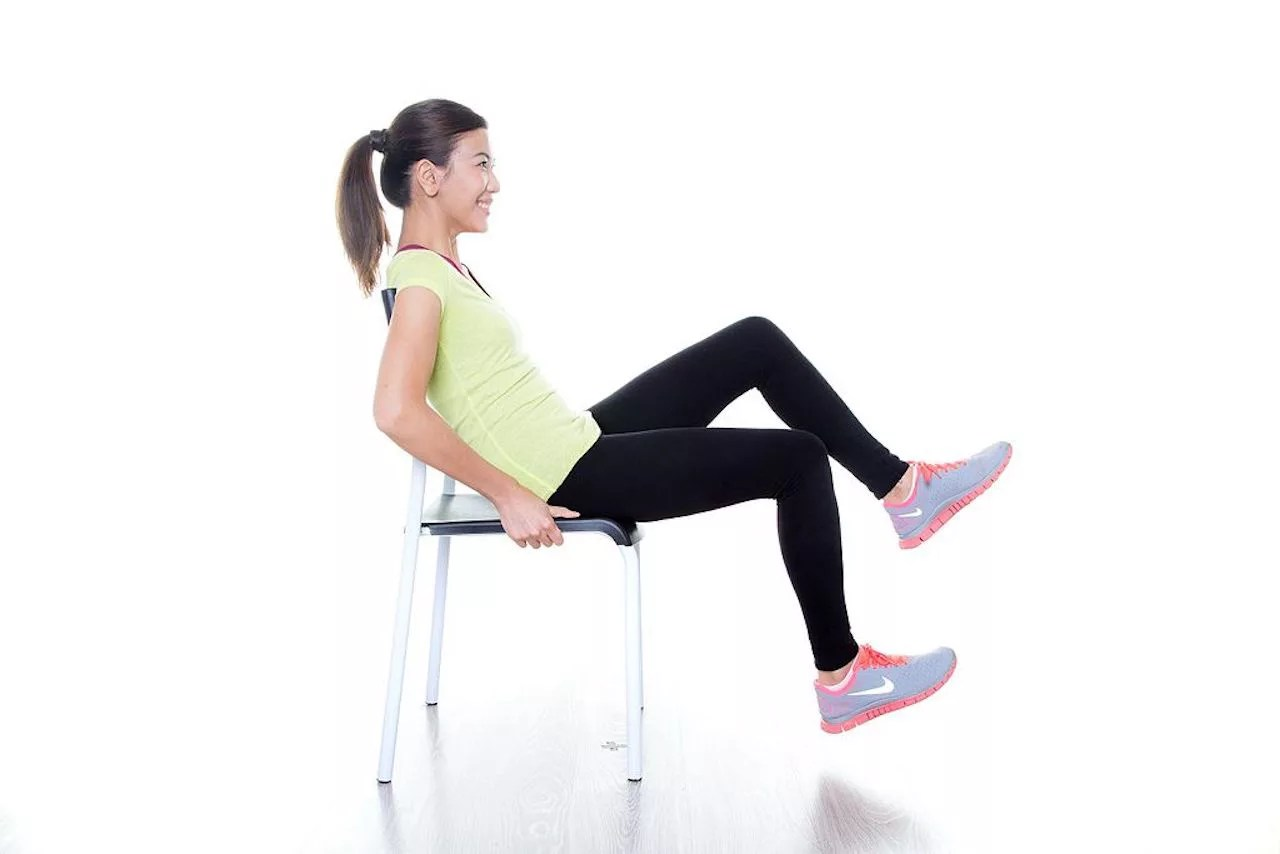 Chair Exercise 4 Sitting Exercise With Chair To Burn Fat