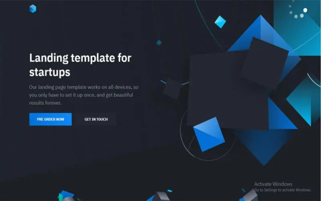 Solid free website templates download