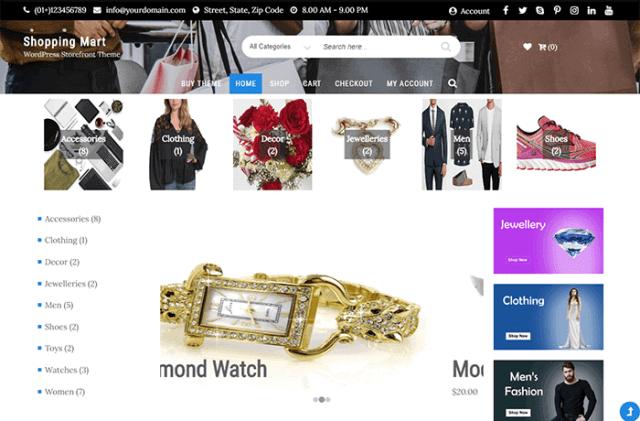 Storefront Business WordPress Theme