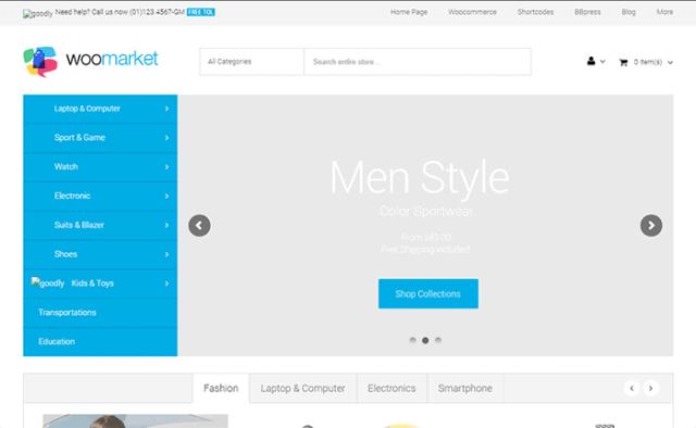 WooMarket - Supermarket WordPress WooCommerce Theme