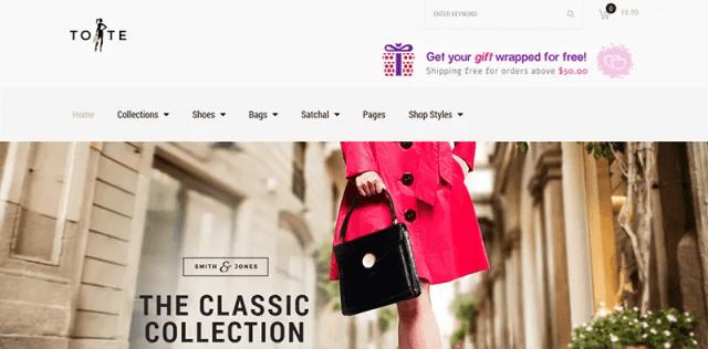 Tote - Fashion Shop Theme
