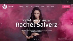 wordpress themes for artists