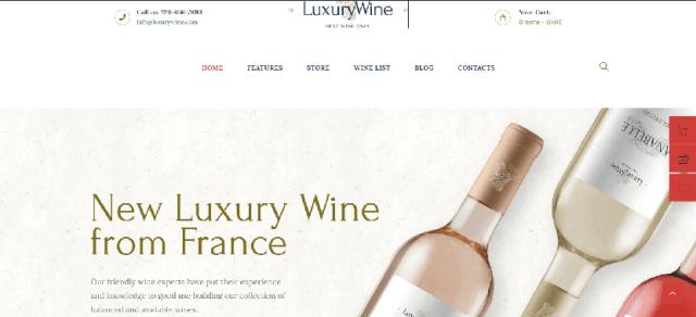 Luxury Wine
