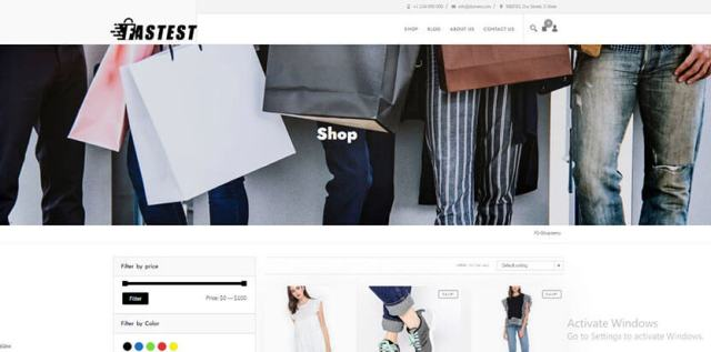 fastestshop best free WooCommerce themes