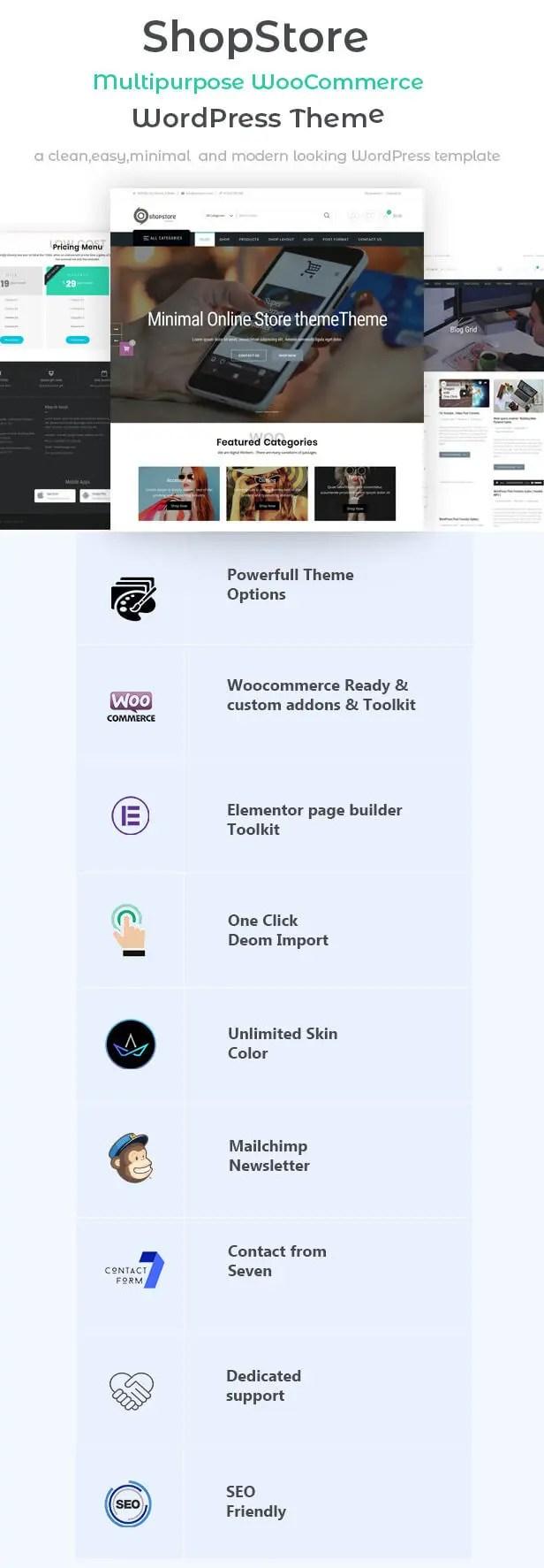 best wp theme ecommerce