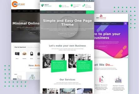 BCF # Multipurpose WordPress Theme for Businesses or eCommerce