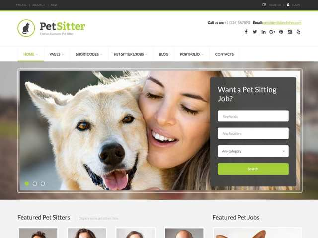 petsitter-job-board-theme