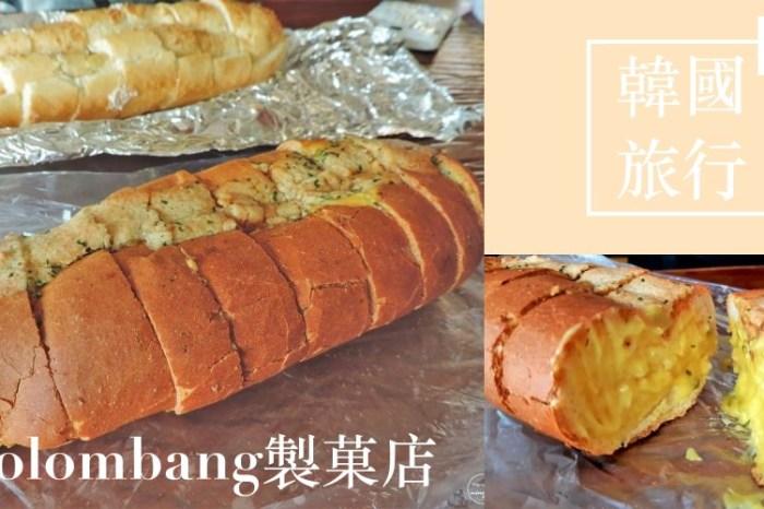 韓國旅遊 ▌木浦麵包店:Colombang製菓店 蝦醬麵包 코롬방제과+光之街《妮妮專欄》