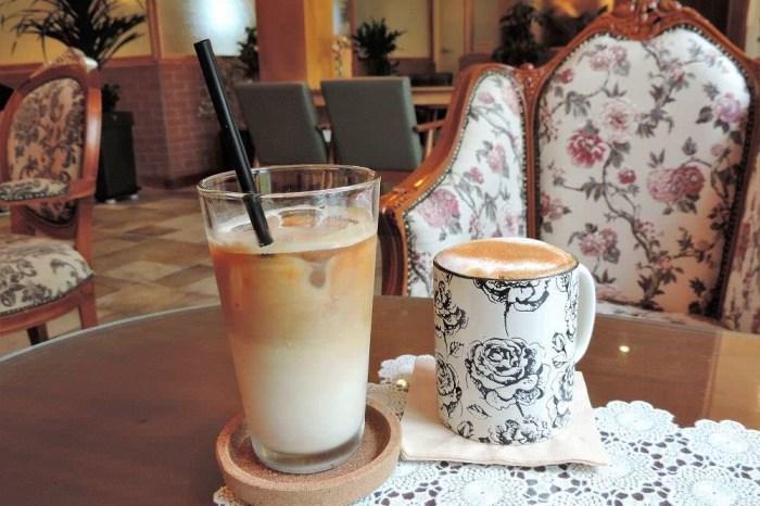 韓國旅行 ▌木浦食記:平和茶房평화다방 復古華麗風格咖啡店《妮妮專欄》