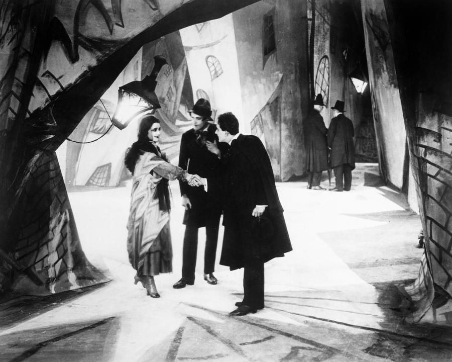 Scene from The Cabinet of Dr. Caligari (1920)