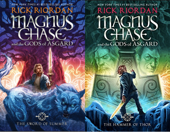 Image result for magnus chase and the gods of asgard series