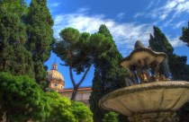 HDR FOUNT ROME