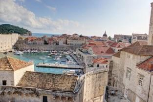 Dubrovnik - port - hdr