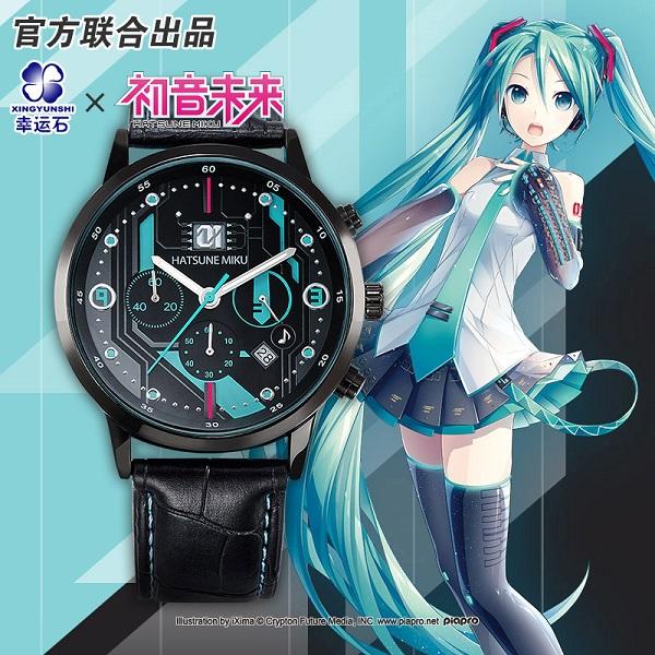 Đồng hồ Hatsune Miku Chronograph Xingyunshi (mẫu 3)