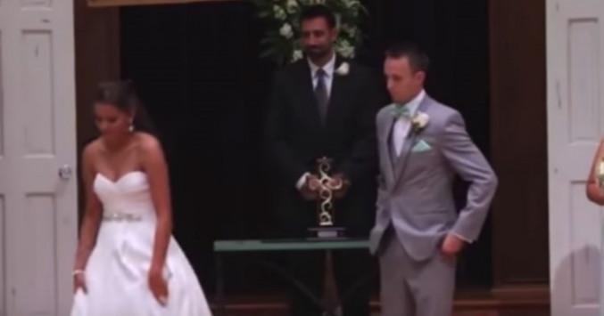 Ένα βίντεο γάμου που δεν θα ξεχάσετε