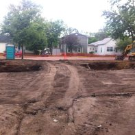 grading-the-site-for-installation-of-footers