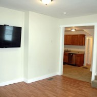 "Living room - includes 55"" Internet TV"