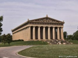 The Parthenon in Nashville Tennessee. Photo by David Padfield