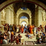 The School of Athens  or Scuola di Atene by Raphael