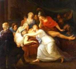 ANDROMACHE LAMENTING THE DEATH OF HECTOR