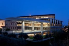 Exterior View  of the Acropolis Museum