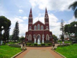 The metal church in Grecia. Grecia, Costa Rica