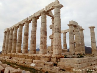 Temple of Poseidon Photo by Th. Bounas