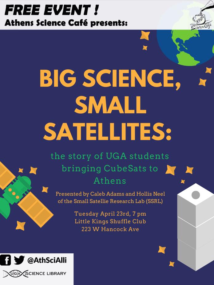 Big Science, Small Satellites