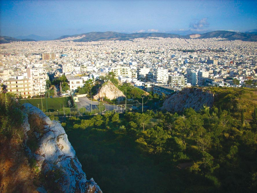 Athens Airport (ATH) transfers to/from Petroupoli with taxi. minivan. minibus. van. limousine. cab. shuttle