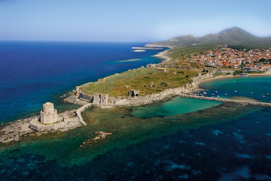 Athens Airport (ATH) transfers to/from Methoni with taxi. minivan. minibus. van. limousine. cab. shuttle