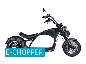 e-Chopper grün