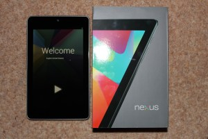 Nexus 7 - First looks