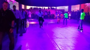 VMworld Party - Skating