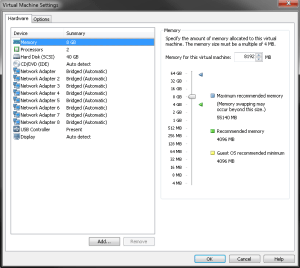 ESXi VM Configuration