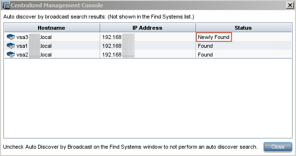 System Found