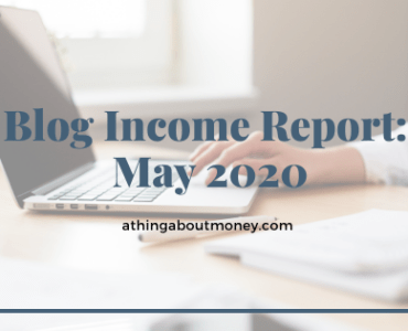 Blog Income Report: May 2020