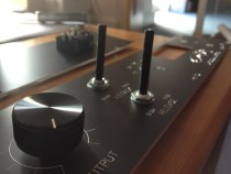 DIY 1176 Front panel with Knobs