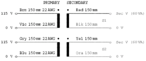 Toroidal Wiring diagram in Manual