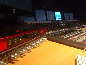 Audient ASP880 in the Neve 88D