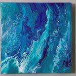 "Image of ""Triptych: Ocean Pour 1, 2, & 3"""