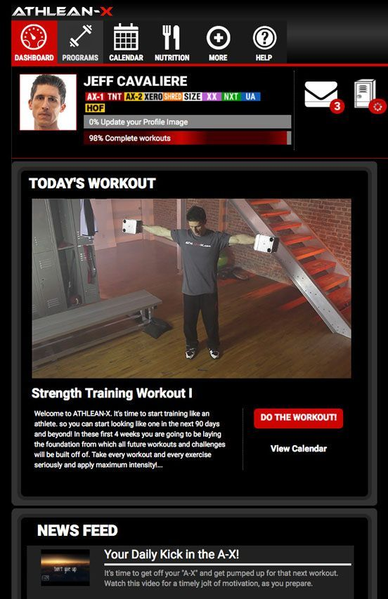 Athlean X Full Body Workout : athlean, workout, Workout, Program, ATHLEAN-X