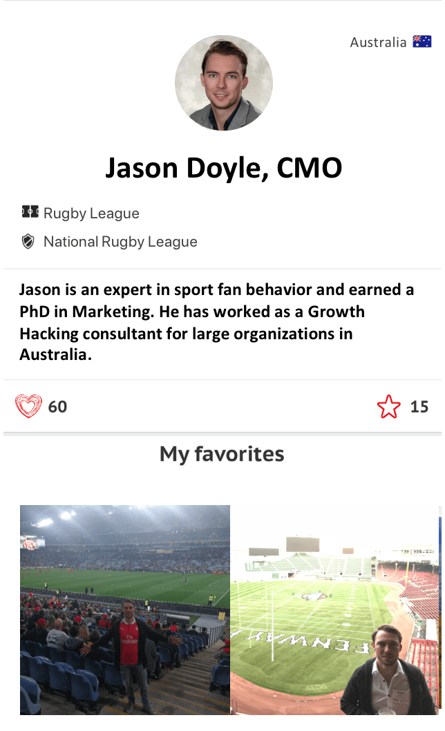 Jason Doyle Thilo Kunkel CMO Athlete CRUSH
