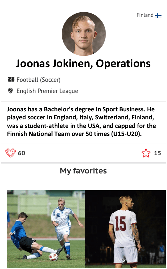 Joonas Jokinen Operations Athlete CRUSH