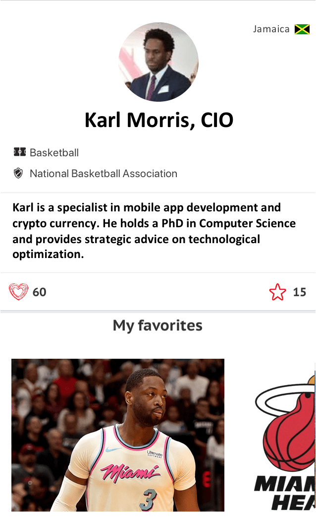Karl Morris CIO Athlete CRUSH