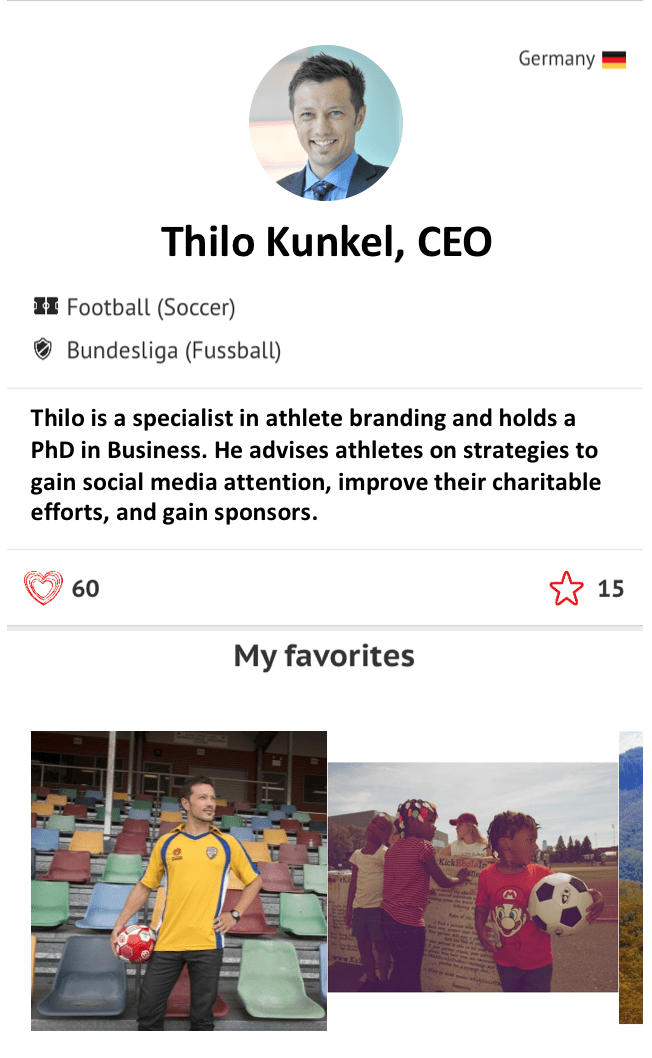 Thilo Kunkel CEO Athlete CRUSH